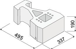 GEOSTONE - FLAT - 3/4 povrch hladký