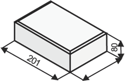 UNIHOLAND 80 mm zámková dlažba