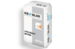 Výplňový betón KB-BLOK 40kg