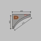 D Rohový segment pre malý kruh