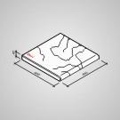 Bazénový lem - Tvár kameňa® Gabro priebežný