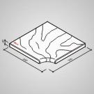 Bazénový lem - Tvár kameňa® Gabro rohový vnútorný